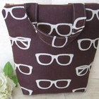 lunch_tote__insulated_lunch_bag_with_echino_glasses_in_brown_handmade_c684285e