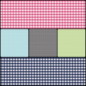 small gingham RB